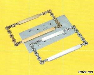 Chain Type License Frame